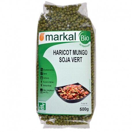 MARKAL Haricots Mungo Soja Vert 500g-Markal