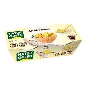 NATURGREEN Dessert Riz Vanille 2x125g Bio - Naturgreen