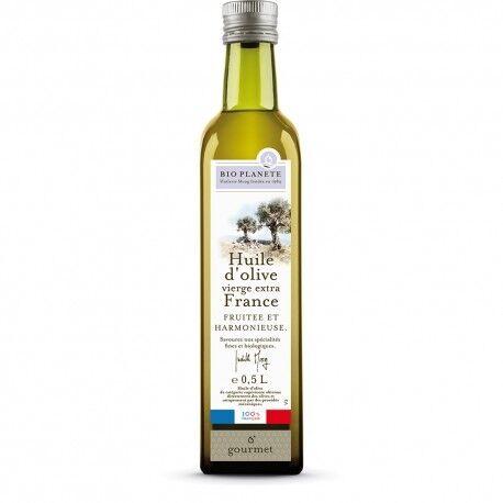 Relais Bio Huile d'olive vierge extra France Bio - 0.5L - Bio Planète