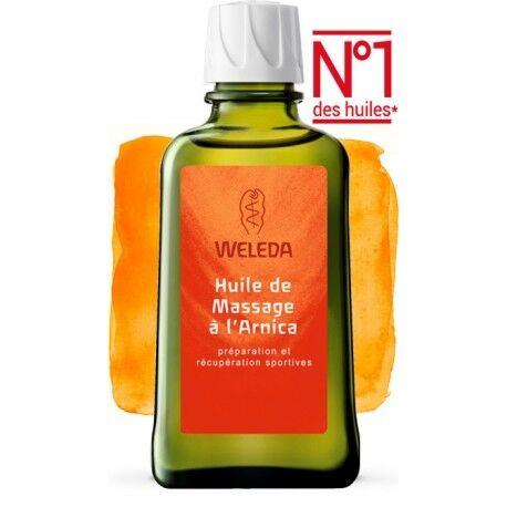 WELEDA Huile de Massage à l'Arnica - 50ml - Weleda
