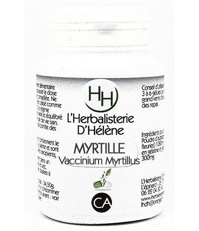 L'herbalisterie D'hélène Myrtille baies, 100 gélules, L'Herbalisterie D'Hélène
