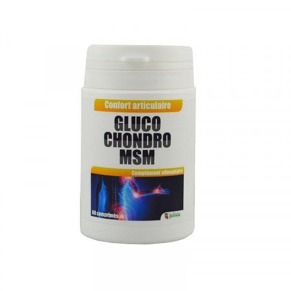 Jolivia Glucosamine et Chondroïtine MSM - comprimés de 675 mg