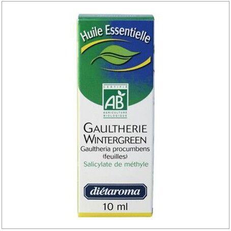 Consomacteurs Associés Huile essentielle de gaulthérie wintergreen