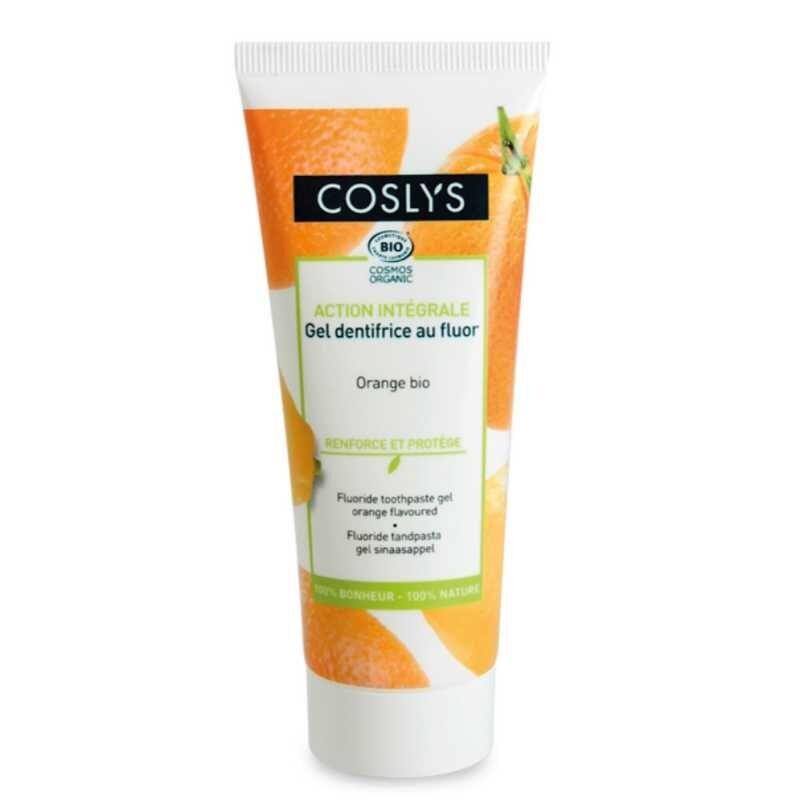 COSLYS Gel dentifrice au fluor bio - 75 ml - Coslys