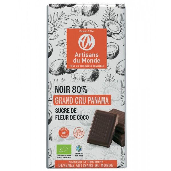 Artisans Du Monde Chocolat Noir 80% Panama Bio - 100g