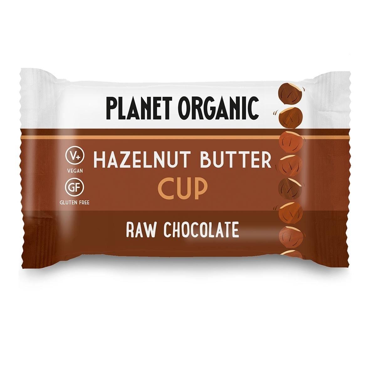 Les Délices De Sarah Cup Beurre de Noisettes 25g Bio - Planet Organic