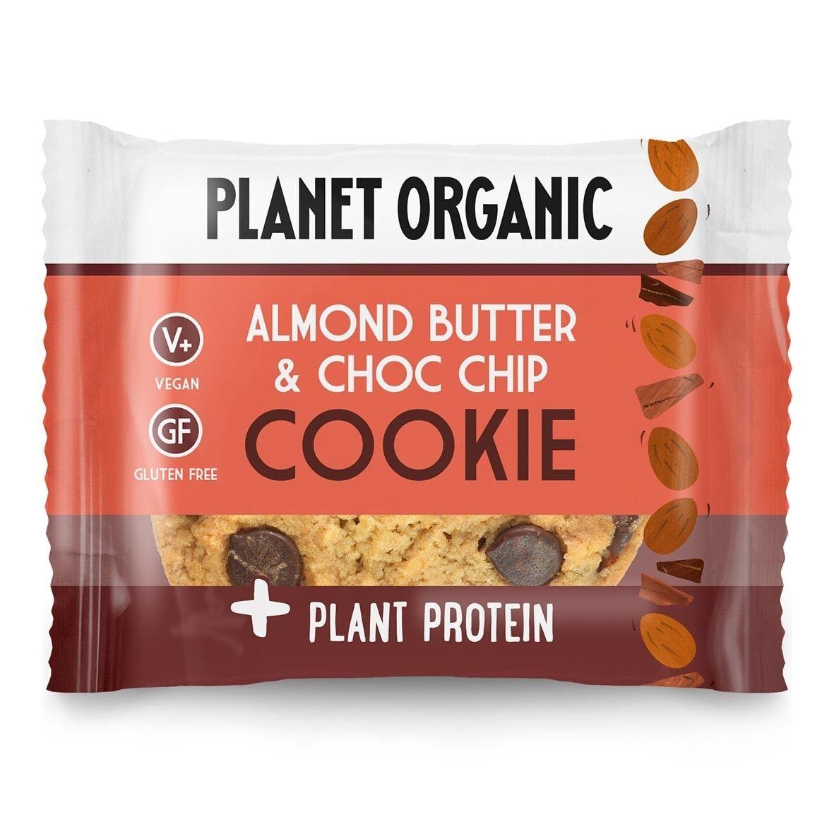 Lechoppebio Cookie Protéiné Amandes-Chocolat Bio 50g - Planet Organic