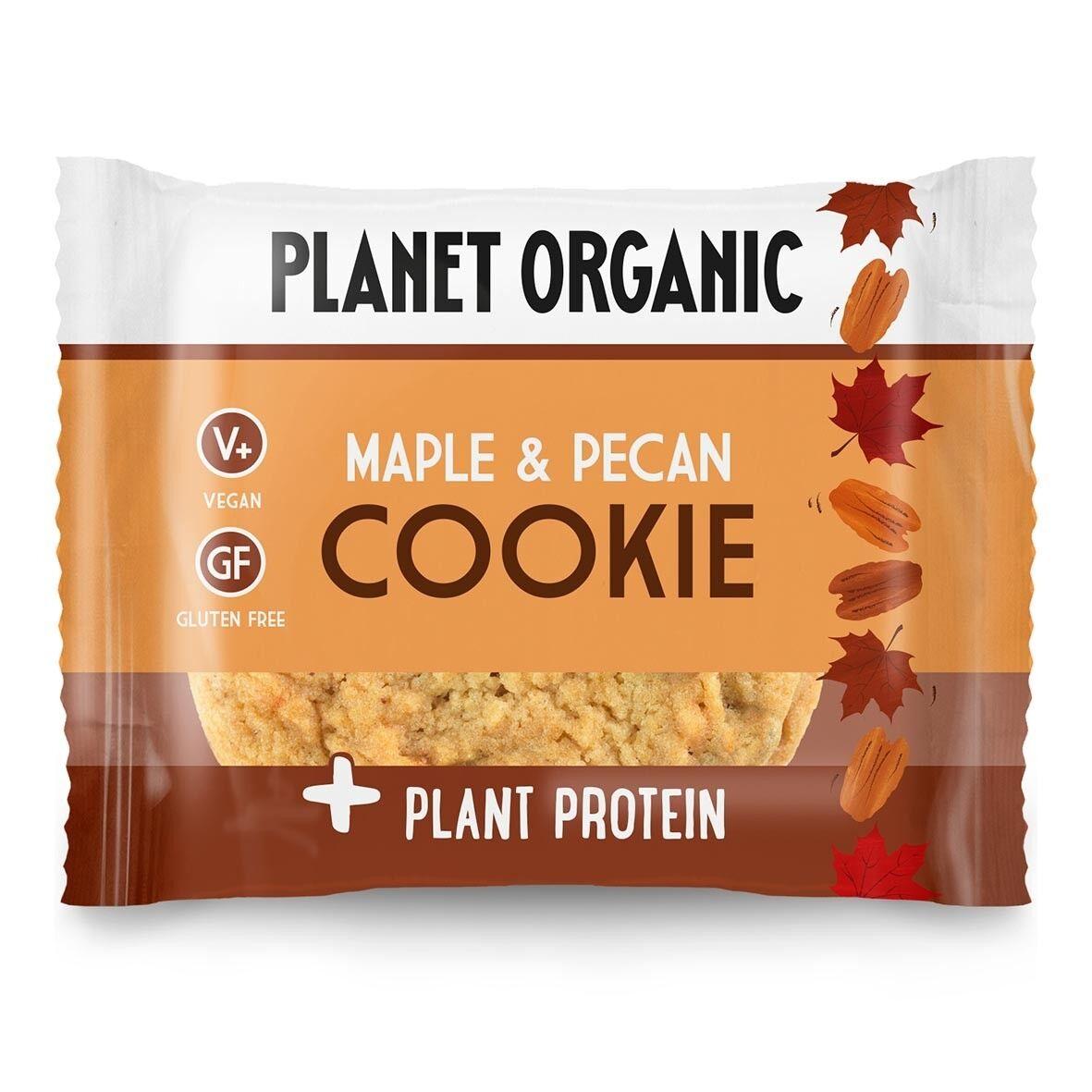 Lechoppebio Cookie Protéiné Sirop d'Erable & Pécan Bio 50g - Planet Organic