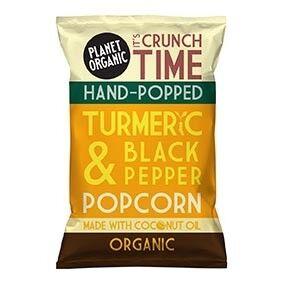 Les Délices De Sarah Popcorn Curcuma Poivre 20g Bio - Planet Organic
