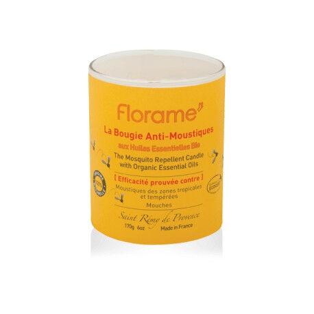 FLORAME Bougie Anti-Moustiques - 170g - Florame