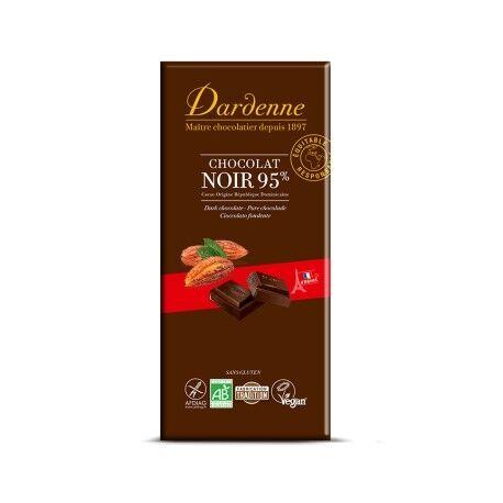 DARDENNE Chocolat Noir 95% Cacao - 90g - Dardenne
