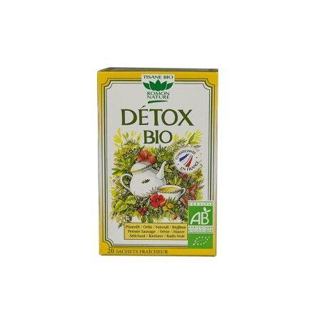 ROMON NATURE Tisane Détox Bio - 24 Sachets - Romon nature