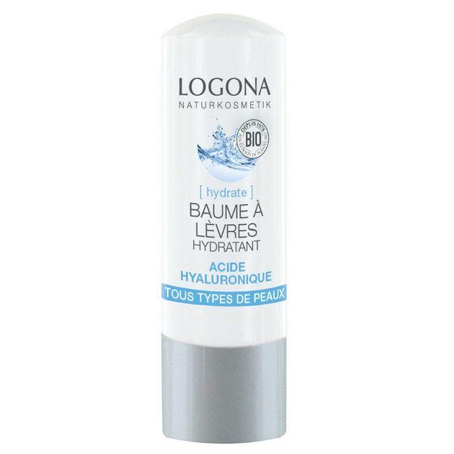 LOGONA - Baume à lèvres bio Hydratant Acide hyaluronique 4,5g