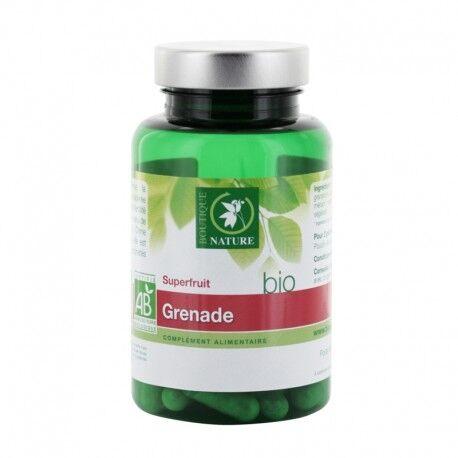 BOUTIQUE NATURE Grenade bio Complément Alimentaire - 60 comprimés - Boutique Nature