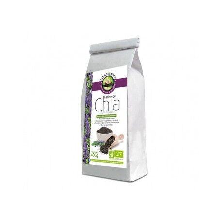 Relais Bio Farine de Chia Bio 400g - Ethnoscience Écoidées