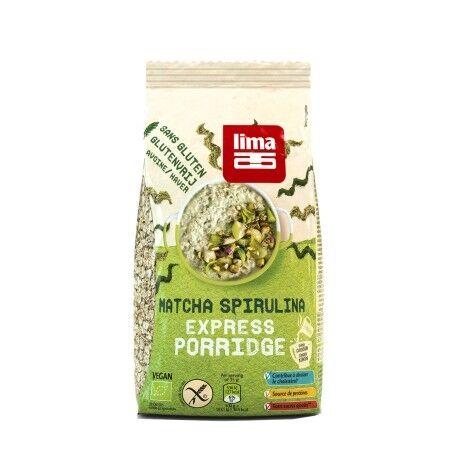 Les Délices De Sarah Matcha Spirulina Express Porridge Bio - 350g - Lima