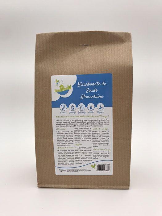 Eco-conseils Bicarbonate de Soude : Sachet de 500g