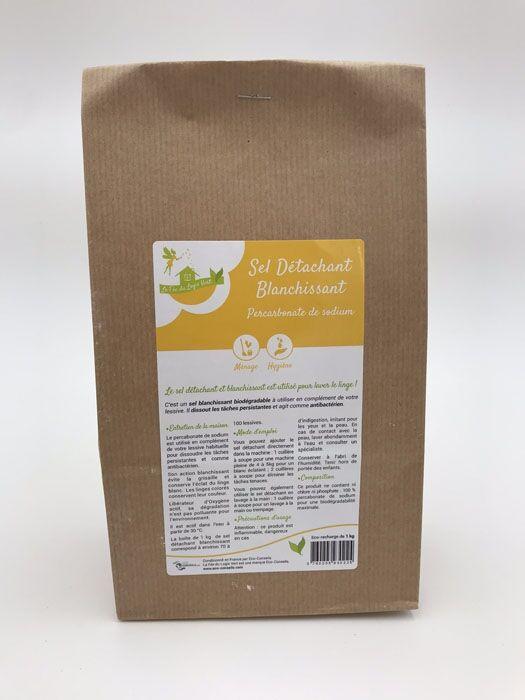 Eco-conseils Sel détachant en pot 1kg