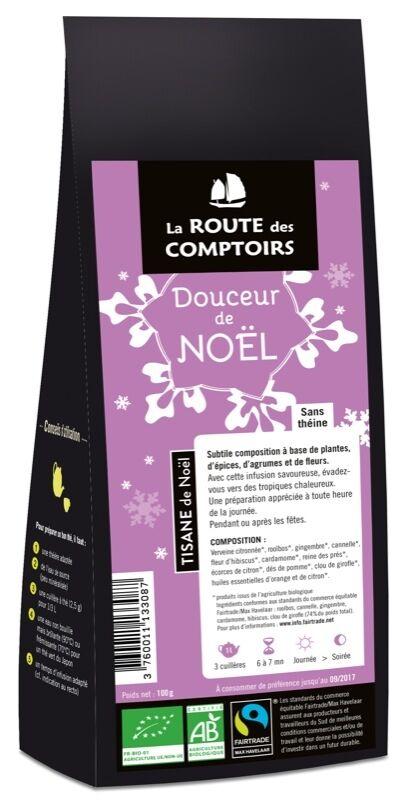La Route Des Comptoirs Infusion bio Douceur de Noël