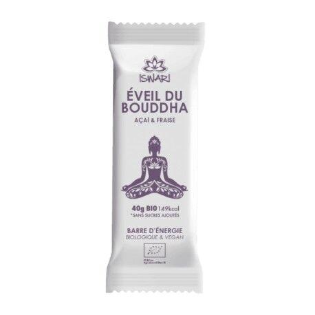 Relais Bio Barre d'Energie Açaï et Fraise Bio - 40g - Eveil du bouddha