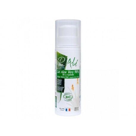 EQUITABLE Gel 98% d'Aloe Vera Bio et Equitable - 250ml - Pur Aloé