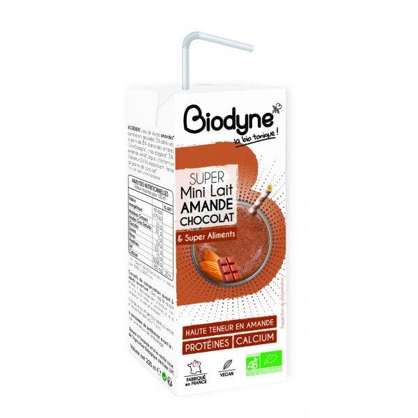 Biodyne Super lait d'amande au chocolat  20 cl