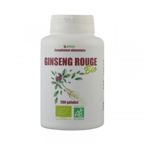 ECOCERT Ginseng Rouge Bio - 200 gélules végétales de 300 mg