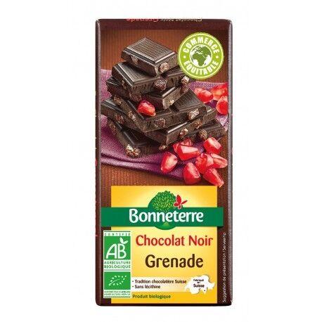 BONNETERRE Chocolat Noir Grenade 100g -Bonneterre