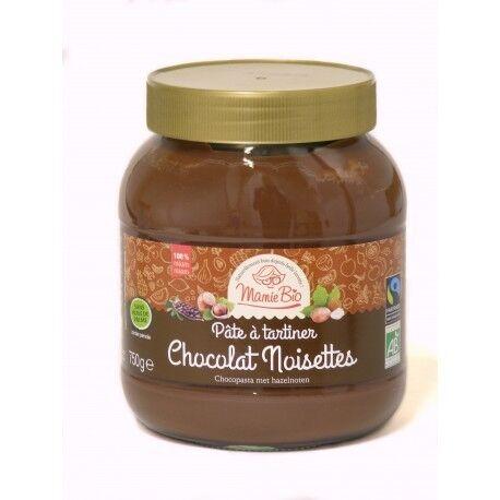 MAMIE BIO Ma Pâte à tartiner Chocolat Noisettes - 750g - Mamie Bio