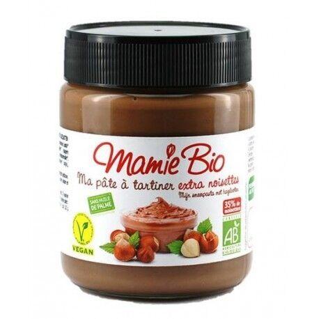 MAMIE BIO Ma Pâte à tartiner Chocolat 35% Noisettes Sans Gluten - 270g -...