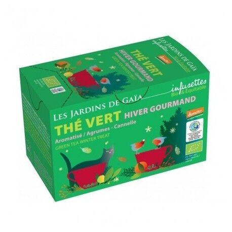 JARDINS DE GAÏA Thé vert Hiver Gourmand