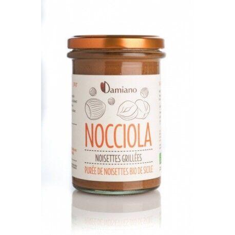DAMIANO Nocciola Purée de Noisettes Grillées Bio - 275g - Damiano