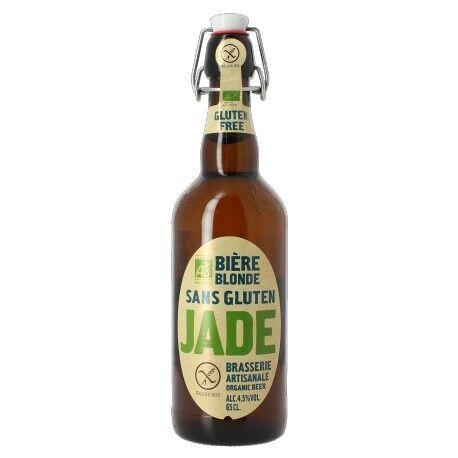 ECOCERT Bière Blonde Sans Gluten - 65cl - Jade