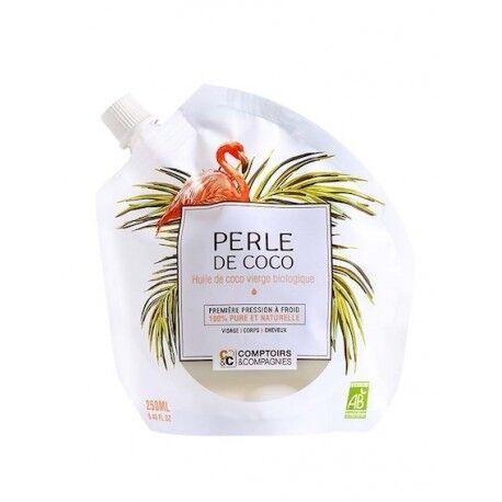 COMPTOIRS ET COMPAGNIES - Perle de coco - Huile de coco vierge bio...