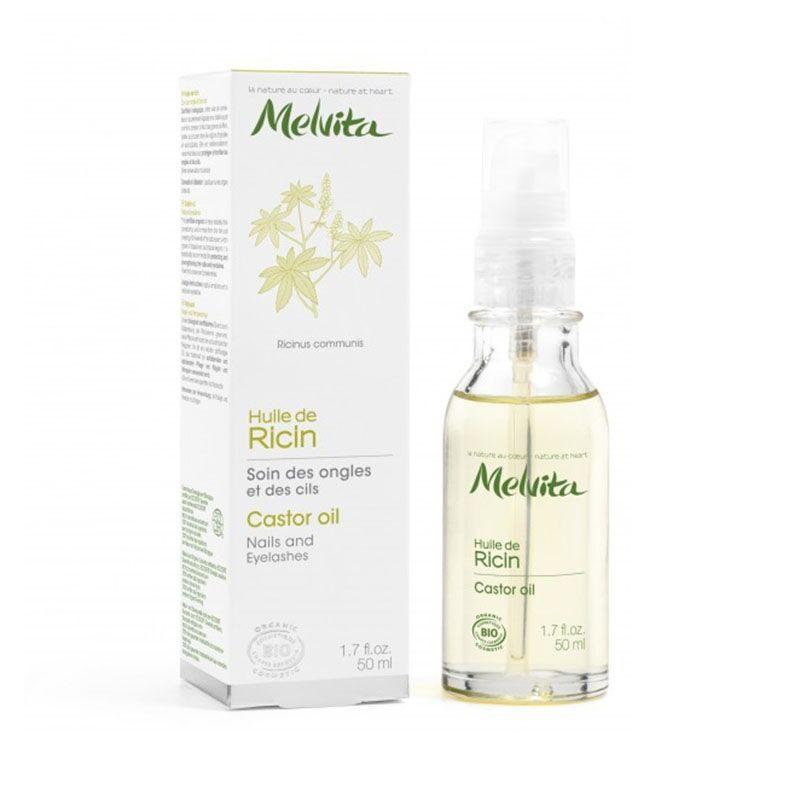 MELVITA Huile Végétale de Ricin Bio - 50ml - Melvita