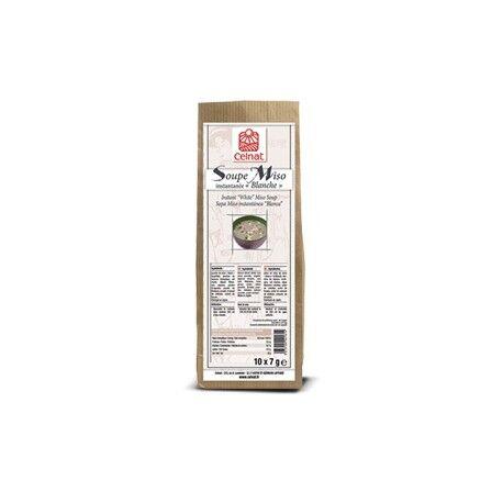 """CELNAT Soupe Miso instantanée """"Blanche"""" (10 sachets de 7g) 70g-Celnat"""