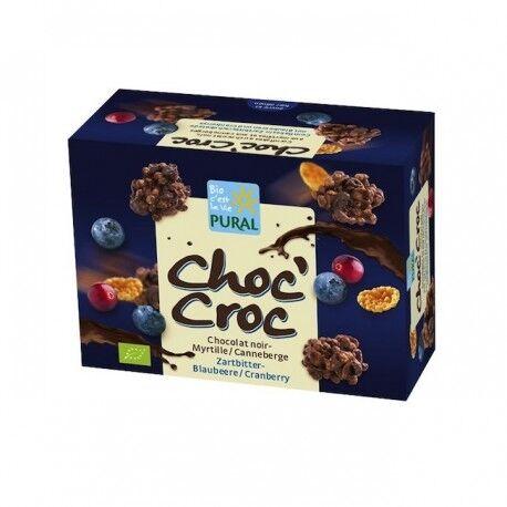 Relais Bio Choc'Croc Chocolat Myrtille Canneberge - 100g - Pural