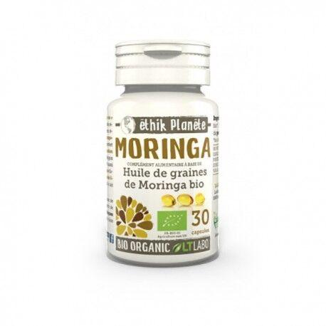 ECOCERT Huile de Graines de Moringa Bio - 30 capsules - LT Labo