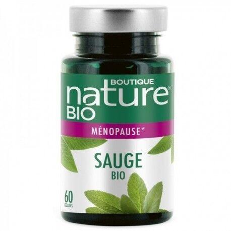 BOUTIQUE NATURE Sauge Bio - 180 Gélules - Boutique Nature
