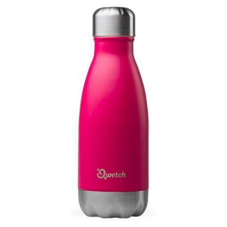 Relais Bio Bouteille Nomade Isotherme - Magenta - 260ml - Qwetch
