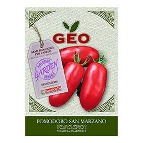 Lechoppebio Semences pour Tomate San Marzano 3 Bio 1g - GEO