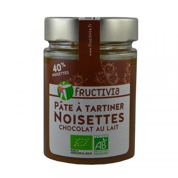 Jolivia Pâte à tartiner noisettes chocolat lait Bio - 300 g
