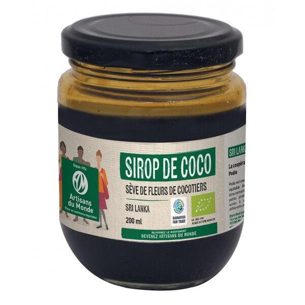 Artisans Du Monde Sirop de coco Bio - 200 ml