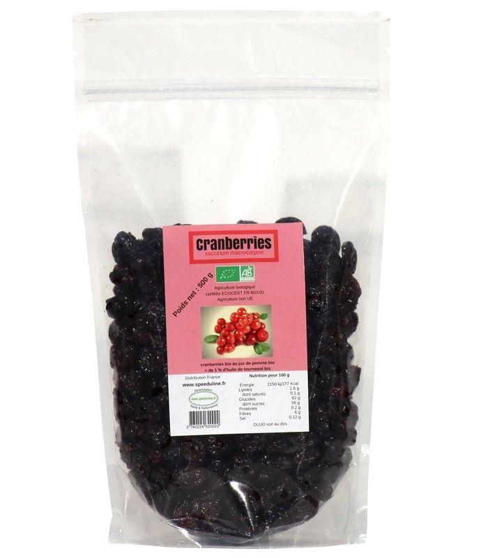 Speeduline Pj Natura Cranberries Bio - sachet 500g