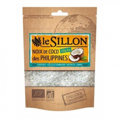 LE SILLON Noix de Coco des Philippines Râpée 125g-Le Sillon