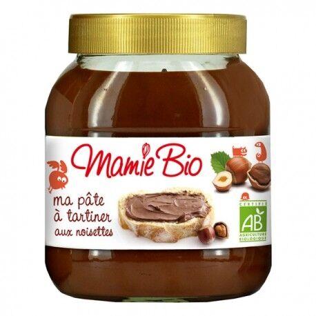 MAMIE BIO Ma Pâte à tartiner Chocolat Noisettes - 350g - Mamie Bio