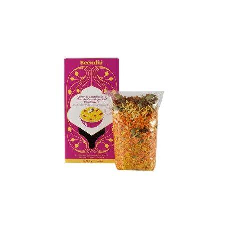 BEENDHI Curry de Lentilles à la Noix de Coco Façon Dal Pondichéry...