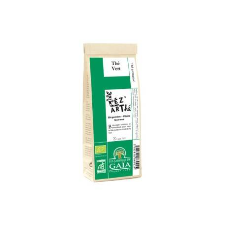 LES JARDINS DE GAIA Léz'arThé, Thé Vert 100g-Les Jardins de Gaia