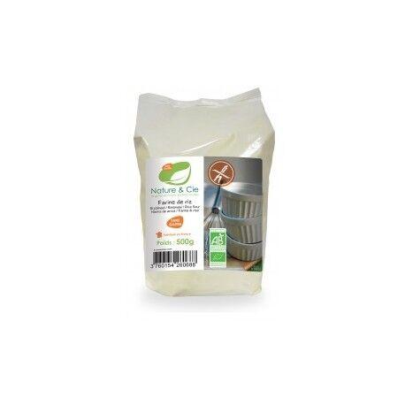 NATURE & CIE Farine de Riz Sans Gluten 500g-Nature & Cie