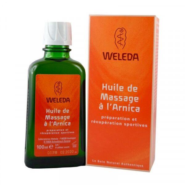 Jolivia Huile de massage à l'Arnica - 100 ml